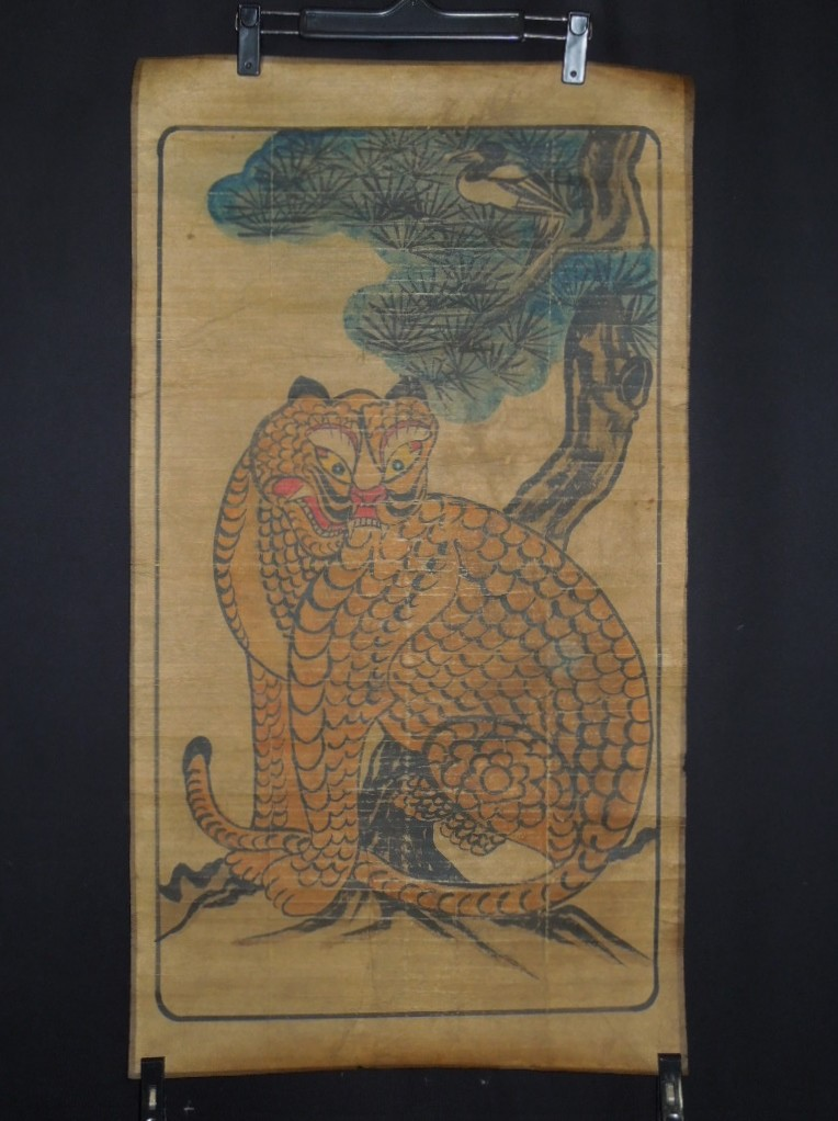 Korean Makuri Painging scroll