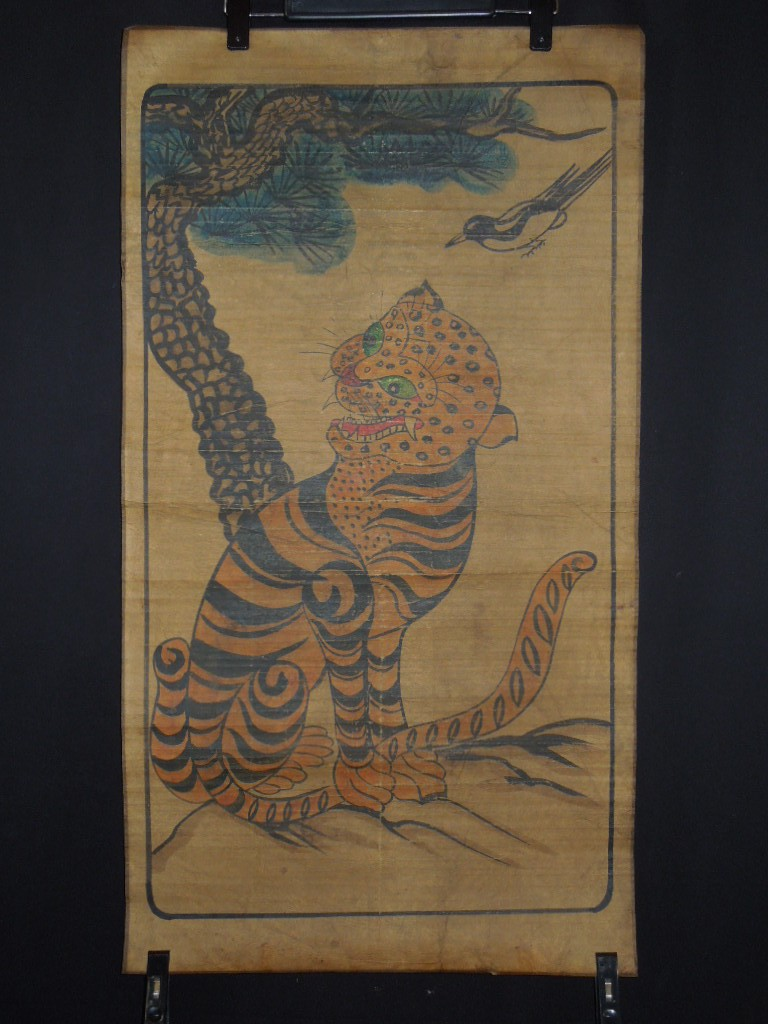 Korean makuri paintings picture scroll