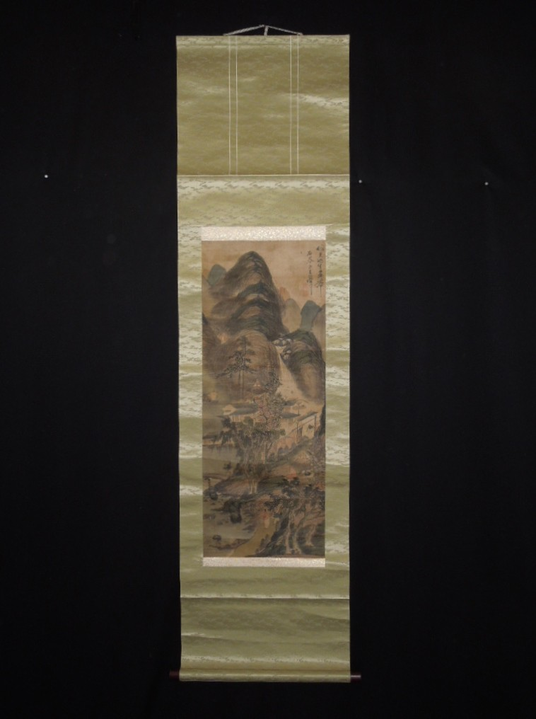 Chinese landscape paintings Hanging scroll