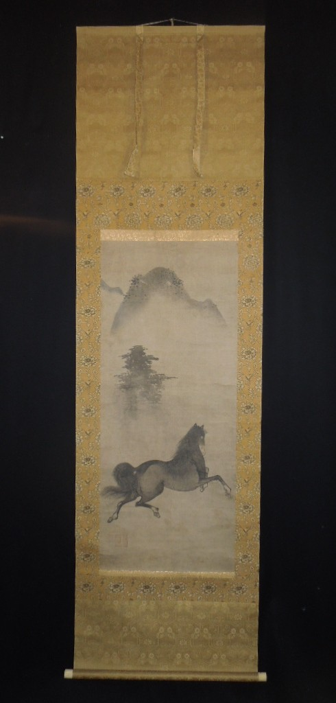 ■japanese animals birds & flowers paintings hanging scroll